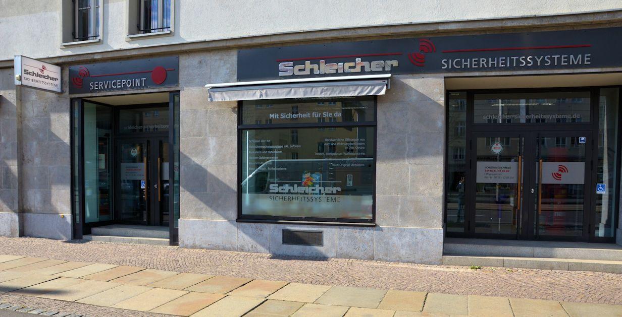 Leipziger Schlüsseldienst Schleicher Sicherheitssysteme Ladengeschäft